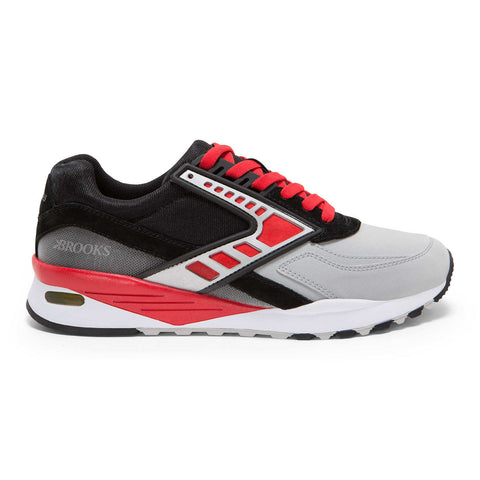 Brooks Heritage Equinox Regent Shoe Black/Red/Silver Shoes Ascent Wear - 1