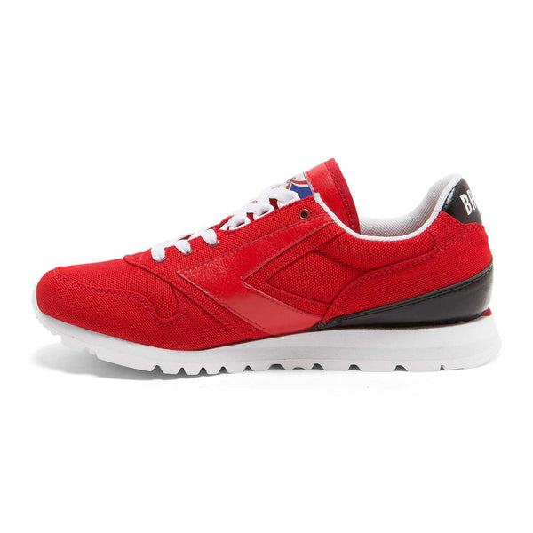 Brooks Heritage Varsity Chariot Shoe Red/Black/White Shoes Ascent Wear - 3