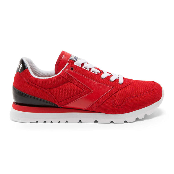 Brooks Heritage Varsity Chariot Shoe Red/Black/White Shoes Ascent Wear - 1