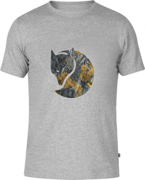 Fjällräven Rock Logo T-Shirt Grey Shirts Ascent Wear