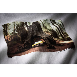 Huf Family Acid Sequoia Garage T-Shirt White Shirts Ascent Wear - 2