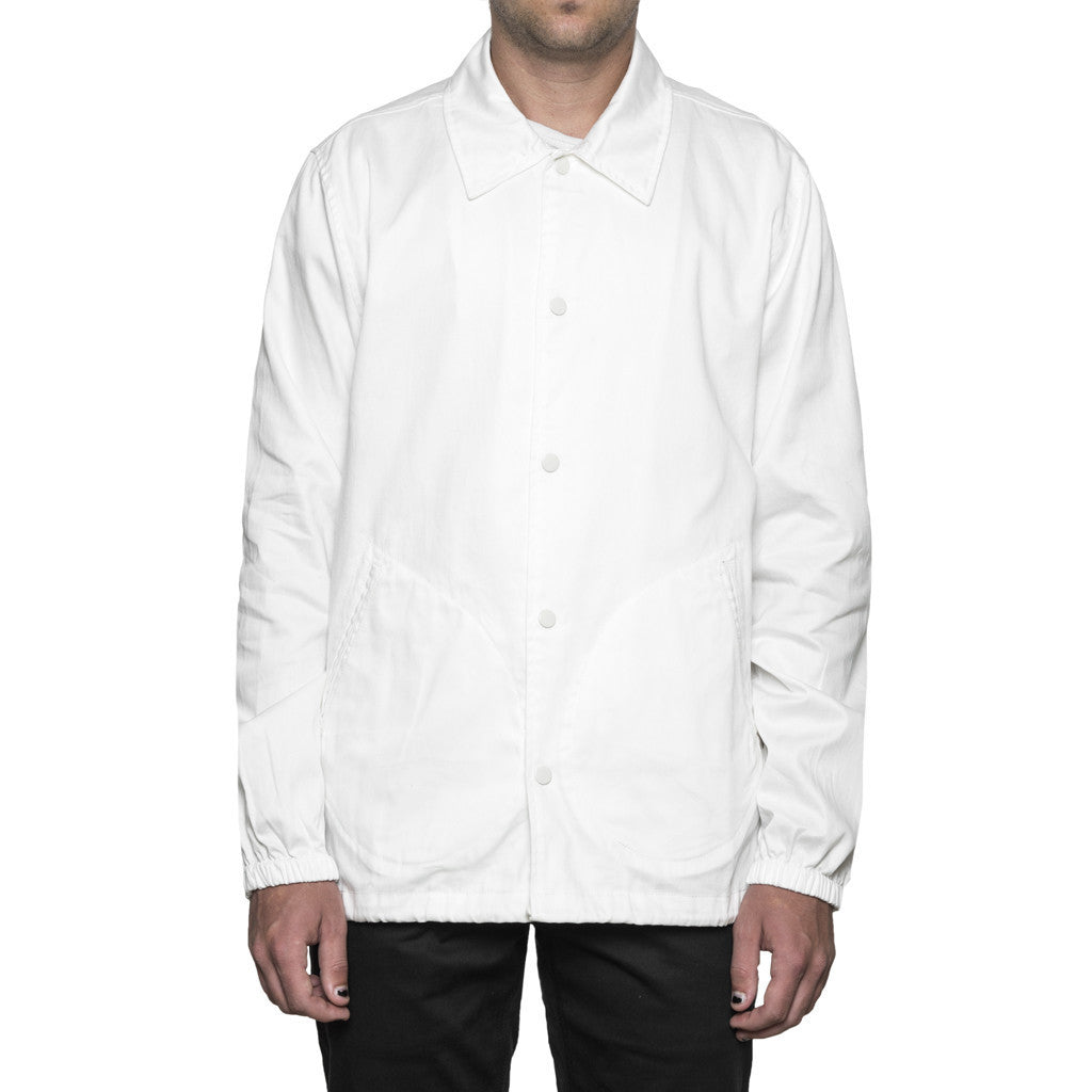Huf MFG Station Jacket White Light Jackets Ascent Wear - 1