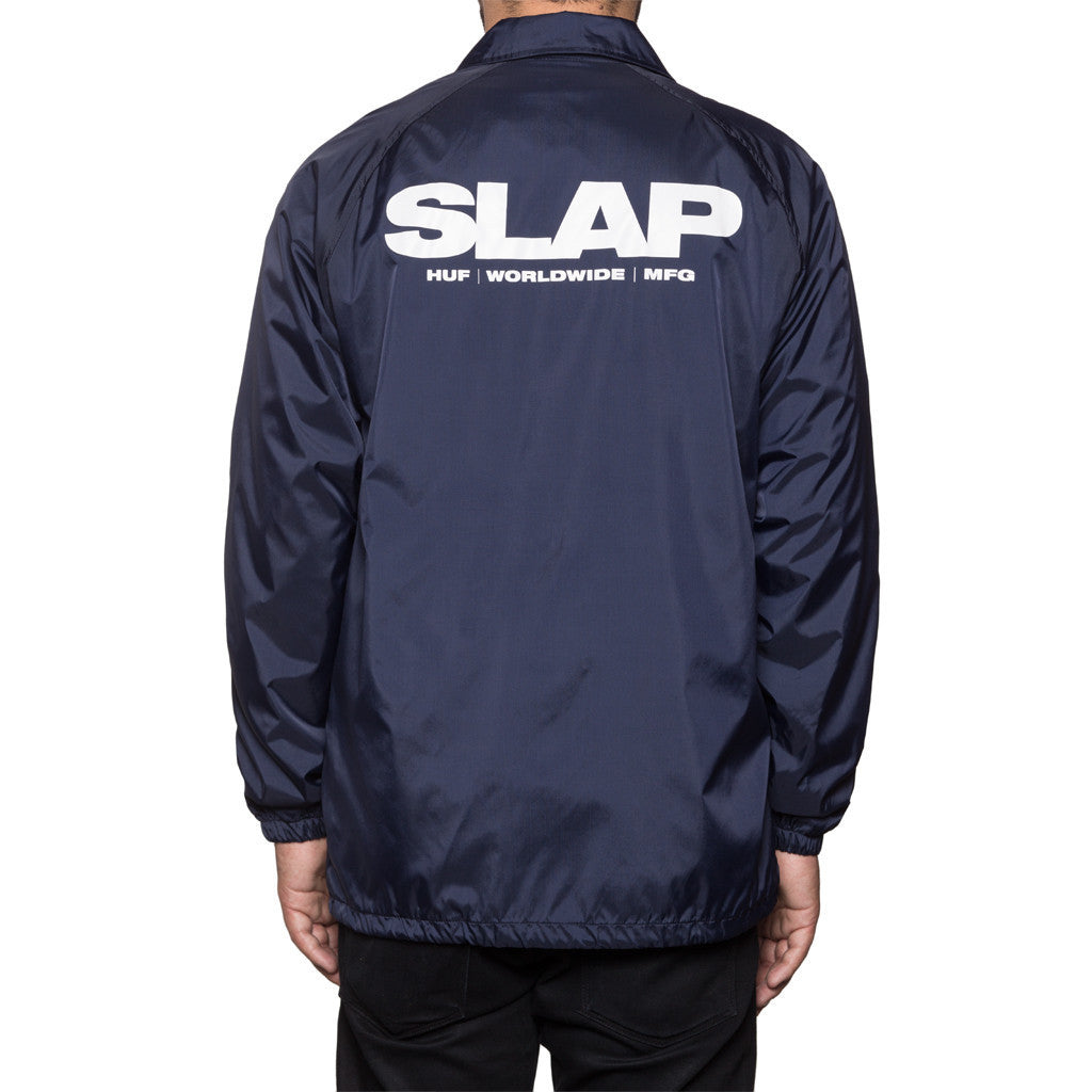 Huf Huf x Slap Coaches Jacket Navy Light Jackets Ascent Wear - 2