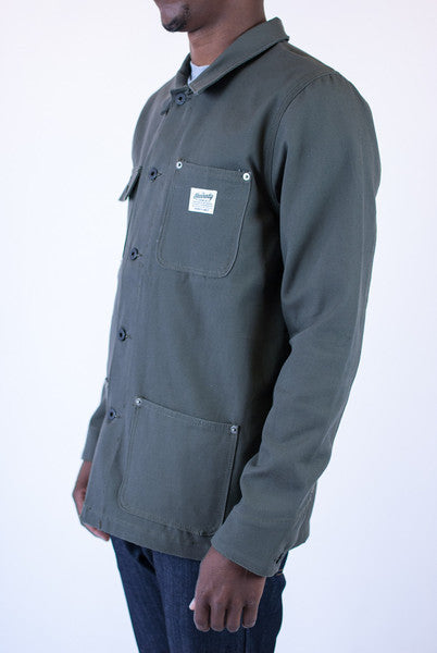 Kennedy Denim Chore Coat Moss Light Jackets Ascent Wear - 2