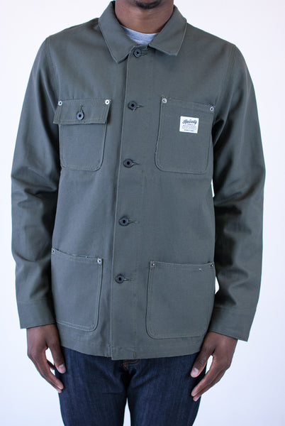 Kennedy Denim Chore Coat Moss Light Jackets Ascent Wear - 1