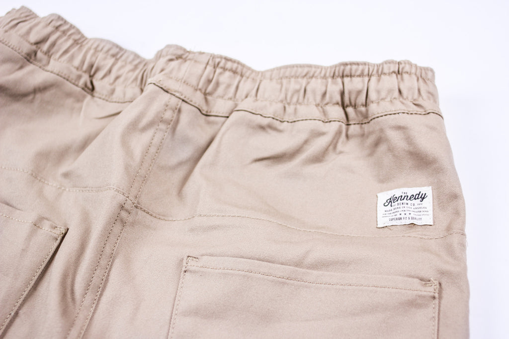 Kennedy Denim Dropcrop Pants Khaki Pants Ascent Wear - 2