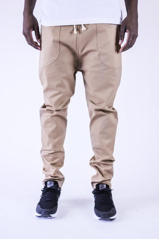 Kennedy Denim Dropcrop Pants Khaki Pants Ascent Wear - 1