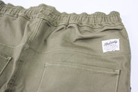 Kennedy Denim Dropcrop Pants Olive Pants Ascent Wear - 2