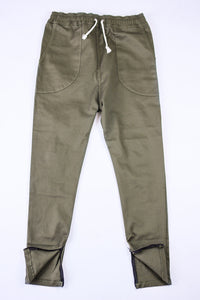 Kennedy Denim Dropcrop Pants Olive Pants Ascent Wear - 3