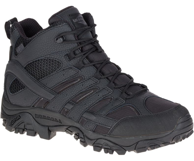 Merrell Men's Moab 2 Mid Tactical Waterproof Boot