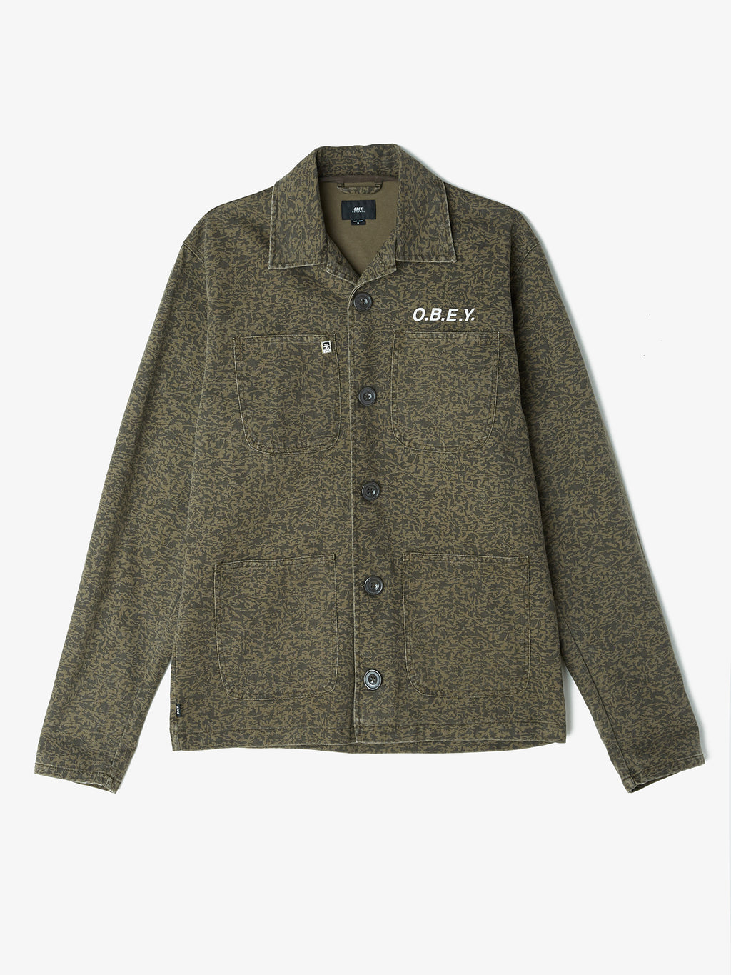 Obey Wasteline Jacket Light Jackets Ascent Wear - 1