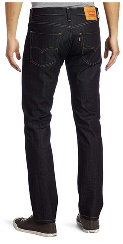 Levi's Slimming Straight Jeans - Dark Wash