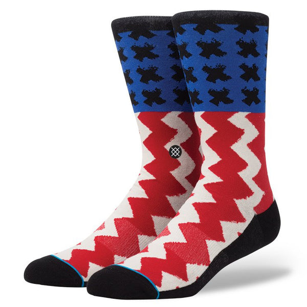 Stance Stereo Sock Striped Socks Ascent Wear