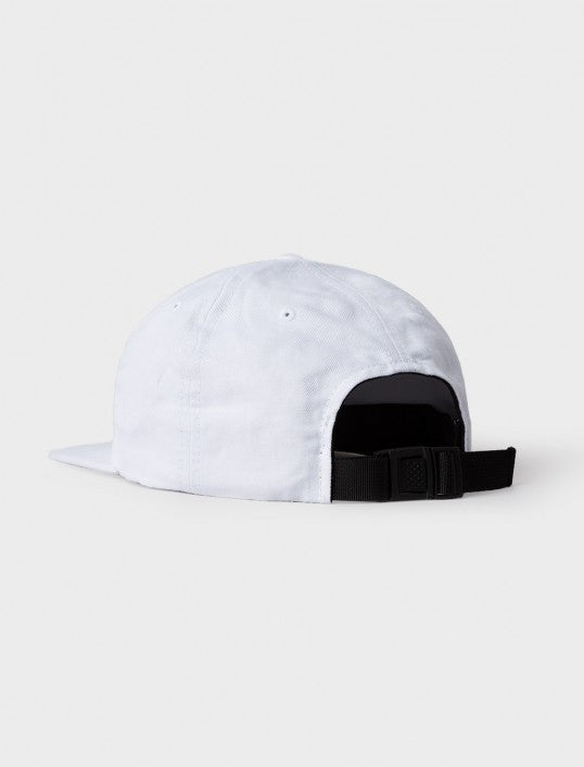 Stussy Cotton Linen Twill Strapback Hat White Hats Ascent Wear - 3