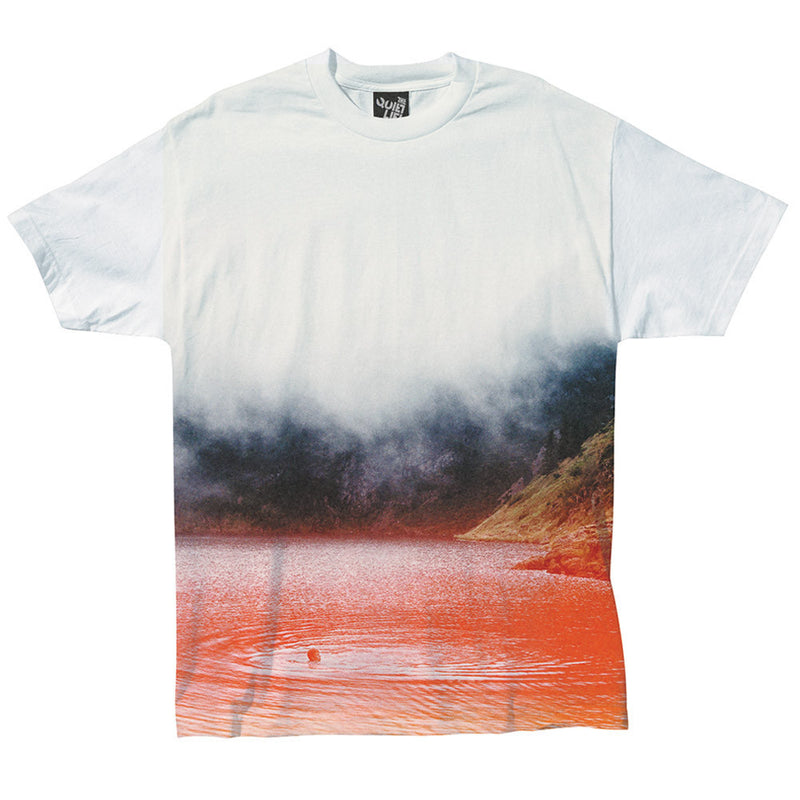 The Quiet Life Fog Photo T-Shirt White Shirts Ascent Wear