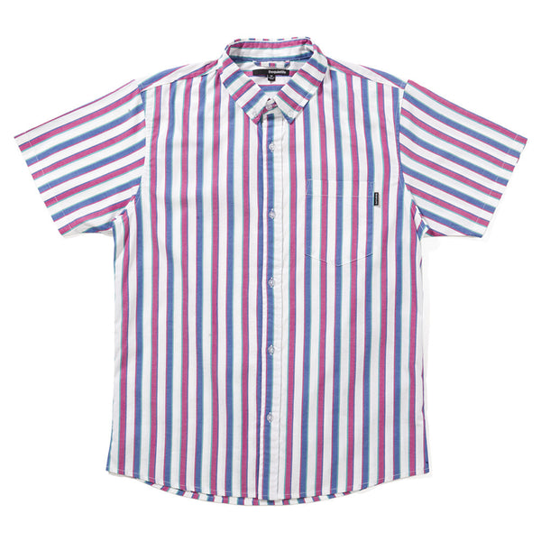 The Quiet Life Phillips Striped Button Down Shirts Ascent Wear