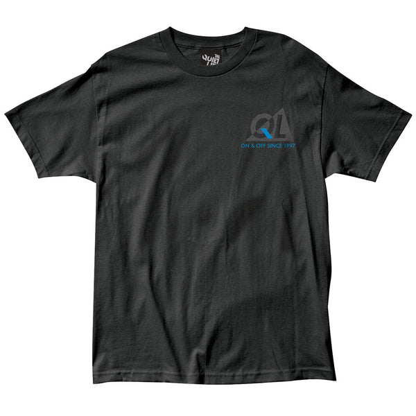 The Quiet Life Reflective T-Shirt Black Shirts Ascent Wear - 1