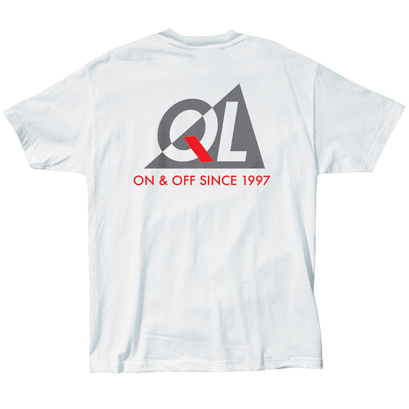 The Quiet Life Reflective T-Shirt White Shirts Ascent Wear - 2