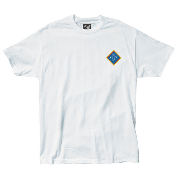The Quiet Life Emblem T-Shirt White Shirts Ascent Wear - 1