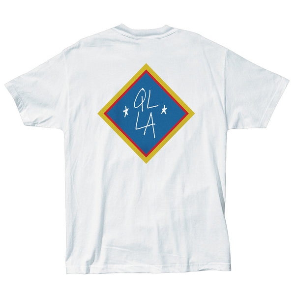 The Quiet Life Emblem T-Shirt White Shirts Ascent Wear - 2