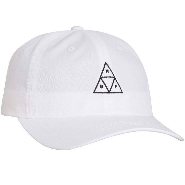 TT CURVED VISOR HAT - WHITE