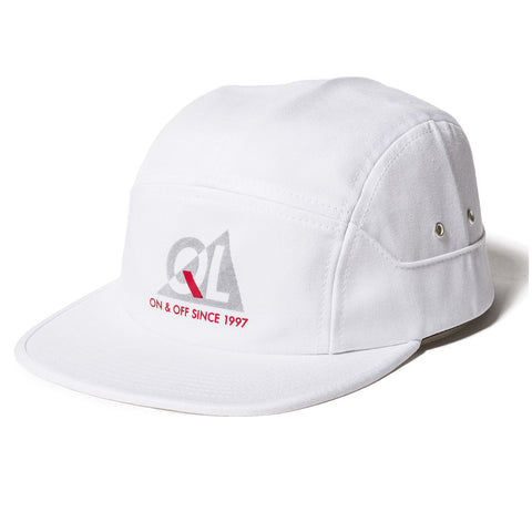 The Quiet Life Reflective 7 Panel Hat White Hats Ascent Wear