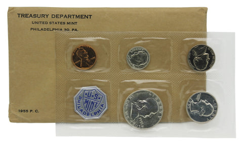 1955 US Mint Proof Set (Flat Pack)