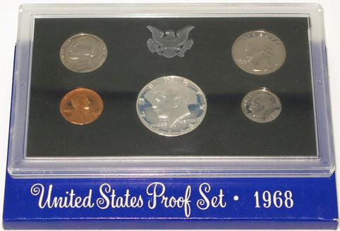 1968 Proof Set US Mint