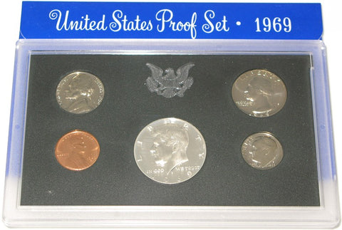 1969 US Mint Proof Set