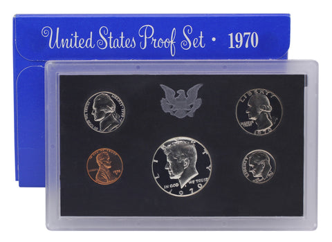 1970 US Mint Proof Set (Small Date)