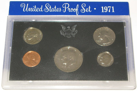 1971 US Mint Proof Set
