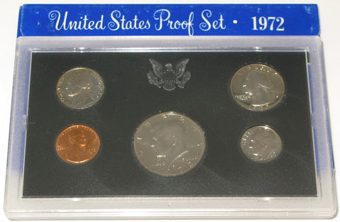 1972 US Mint Proof Set
