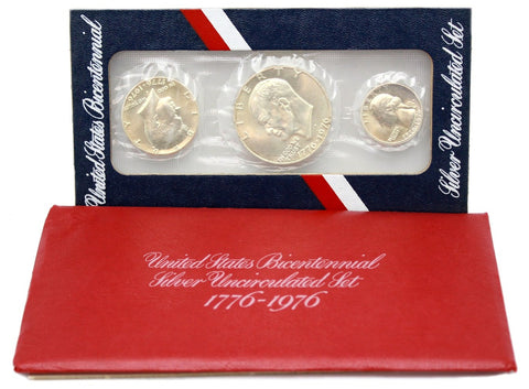 1976 US Mint Silver Bicentennial Uncirculated Set