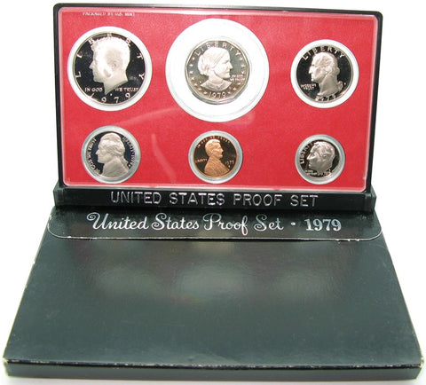 1979 US Mint Proof Set (Type 1)