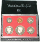1981 US Mint Proof Set (Type 2)