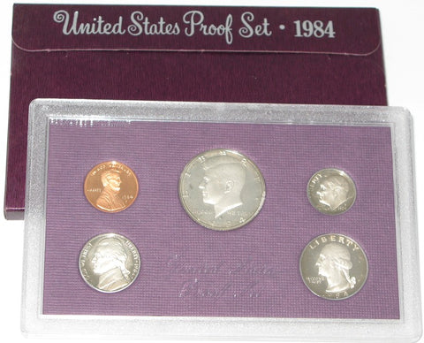 1984 US Mint Proof Set