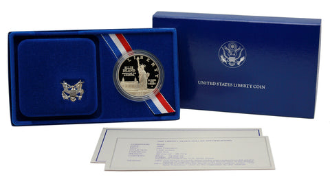 1986 Statue of Liberty Commemorative Silver Dollar Proof