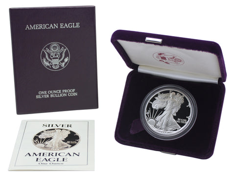 1988 Silver American Eagle Proof