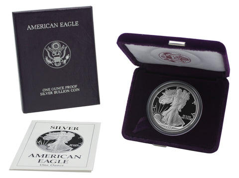 1990 Silver American Eagle Proof
