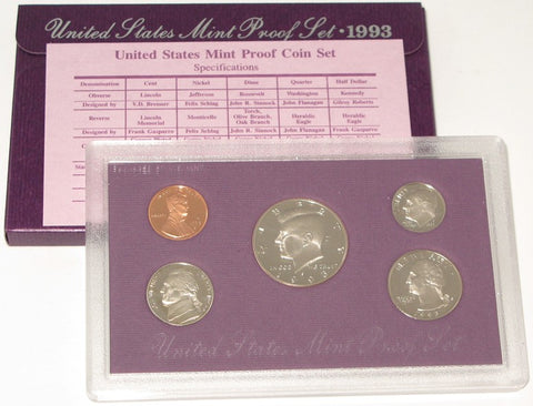 1993 US Mint Proof Set