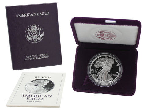 1993 Silver American Eagle Proof