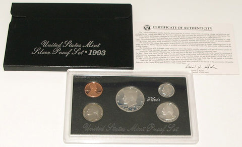 1993 US Mint Silver Proof Set