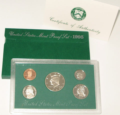 1995 US Mint Proof Set
