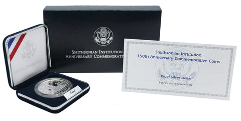 1996 Smithsonian Institution Commemorative Silver Dollar Proof
