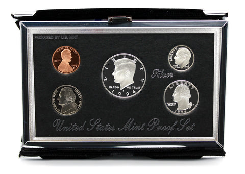 1996 US Mint Premier Silver Proof Set