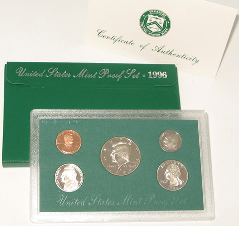 1996 US Mint Proof Set