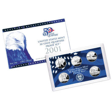 2001 State Quarter Proof Set