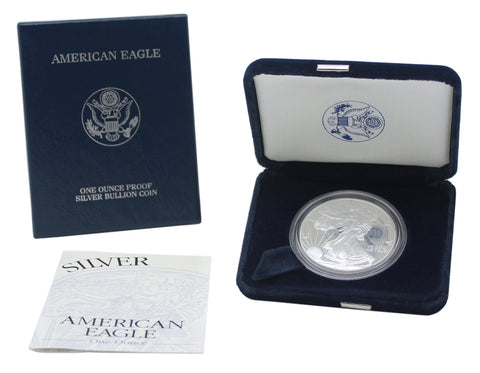 2001 Silver American Eagle Proof