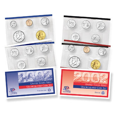 2002 US Mint Uncirculated Coin Set