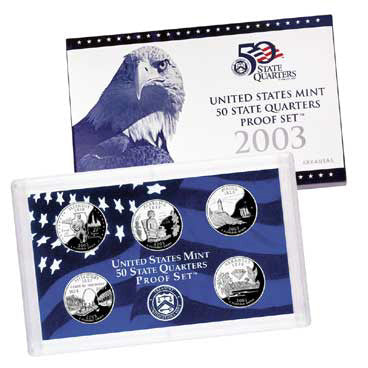 2003 State Quarter Proof Set